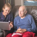Online story sessions for elderly during COVID-19